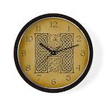Celtic Letter H Wall Clock
