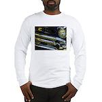 Black Chrome Long Sleeve T-Shirt
