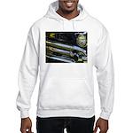 Black Chrome Hooded Sweatshirt