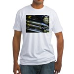 Black Chrome Fitted T-Shirt