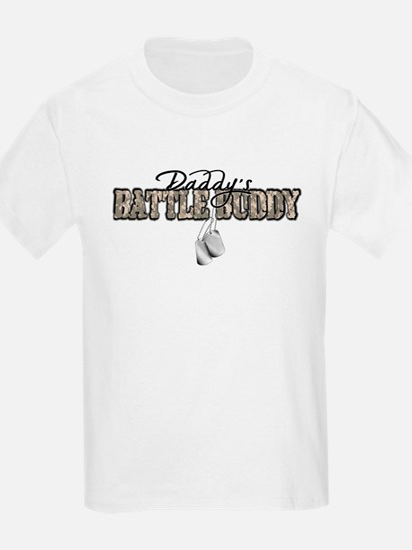Daddy's Battle Buddy T-Shirt