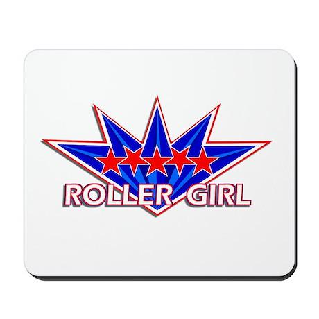 Roller Girl Star Mousepad