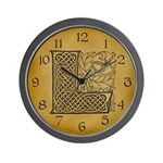 Celtic Letter L Wall Clock