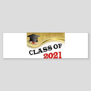 CLASS OF 2021 Bumper Sticker
