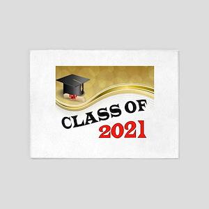 CLASS OF 2021 5'x7'Area Rug
