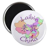 Laibin China Map Magnet