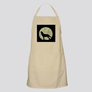 Howling at the Moon BBQ Apron