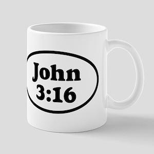 John 3:16 Oval Mug