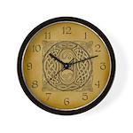 Celtic Letter O Wall Clock