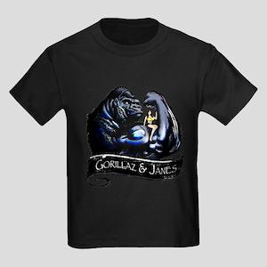 GORILLAZ & JANES Kids Dark T-Shirt