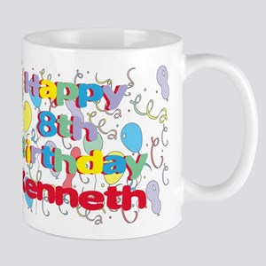 Kenneth's 8th Birthday Mug