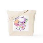 Nanning China Map Tote Bag