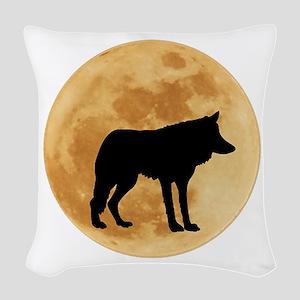 MOON Woven Throw Pillow