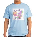 Qinzhou China Map Light T-Shirt