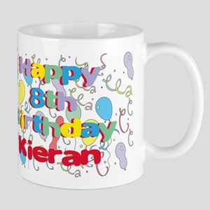 Kieran's 8th Birthday Mug