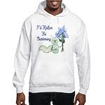 Gardening Caterpillar Hooded Sweatshirt