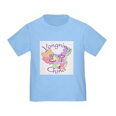 Yongning China Map T