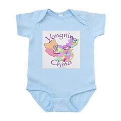 Yongning China Map Infant Bodysuit