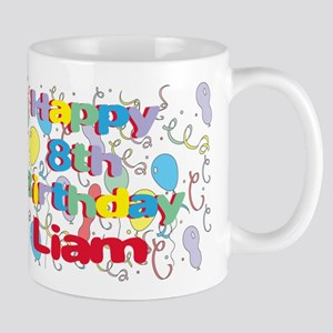Liam's 8th Birthday Mug