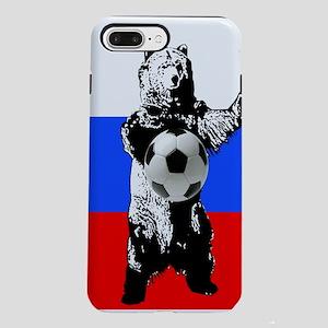 Russian Football Flag iPhone 8/7 Plus Tough Case