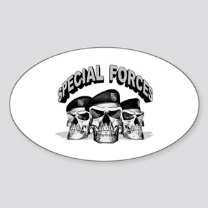 Special Forces Oval Sticker