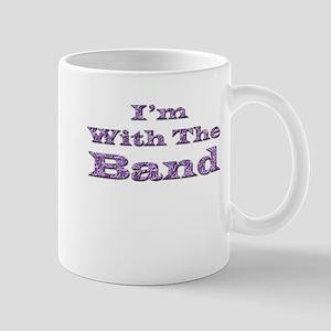 I'm with the Band - Purple Fo Mug
