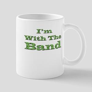 I'm with the Band - Green Foi Mug