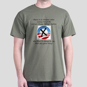 """""""Corrupt Change"""" Dark T-Shirt"""