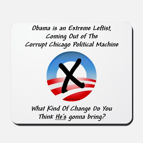 """Corrupt Change"" Mousepad"