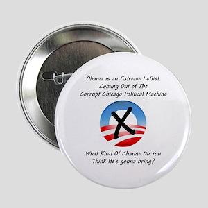 """""""Corrupt Change"""" 2.25"""" Button"""
