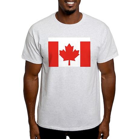 Canada Flag Grey T-Shirt