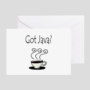 Got Java? Greeting Card