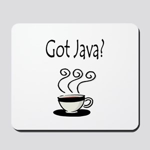 Got Java? Mousepad