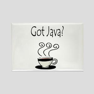 Got Java? Rectangle Magnet