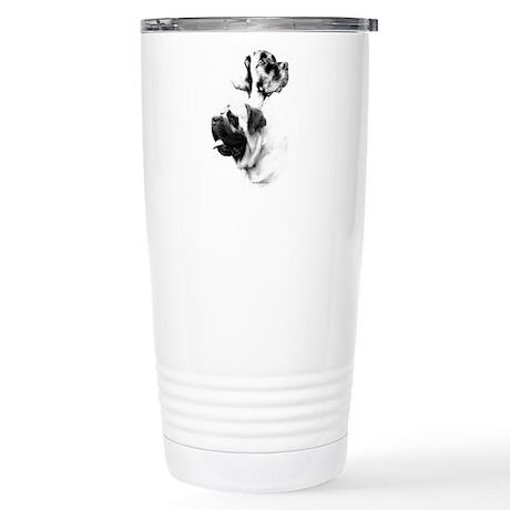 Mastiff Charcoal2 Stainless Steel Travel Mug