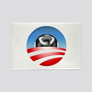 """""""Typical Obama Supporter"""" Rectangle Magnet"""