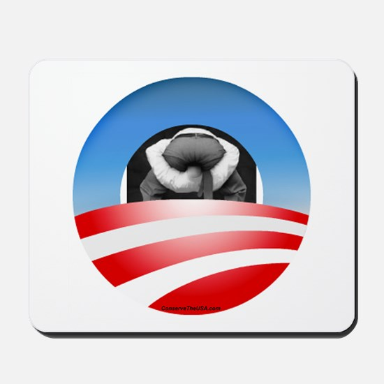 """Typical Obama Supporter"" Mousepad"