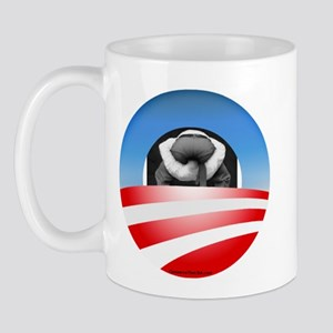 """Typical Obama Supporter"" Mug"