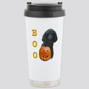 Poodle (Blk) Boo Stainless Steel Travel Mug
