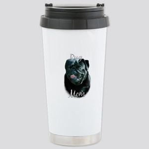 Pug Mom2 Stainless Steel Travel Mug