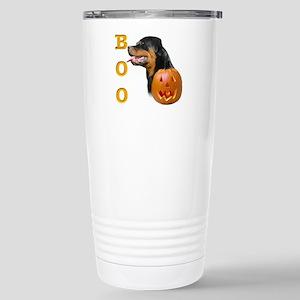 Rottweiler Boo Stainless Steel Travel Mug