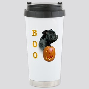 Staffy Boo Stainless Steel Travel Mug