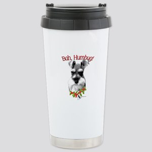 Std. Schnauzer Humbug Stainless Steel Travel Mug
