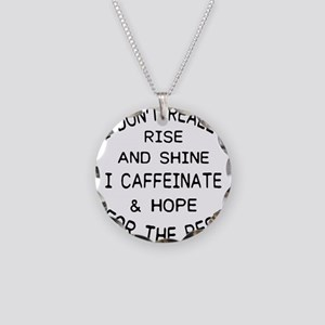 i don't really rise and Necklace Circle Charm