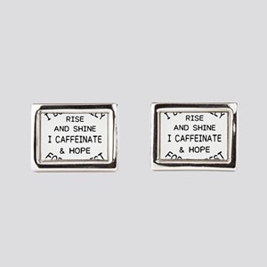 i don't really rise and Rectangular Cufflinks