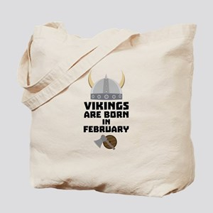 Vikings are born in February Ch6oh Tote Bag