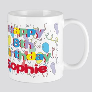 Sophie's 8th Birthday Mug