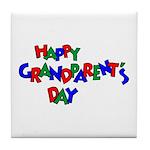 Grandparents Day Tile Coaster