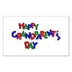 Grandparents Day Rectangle Sticker