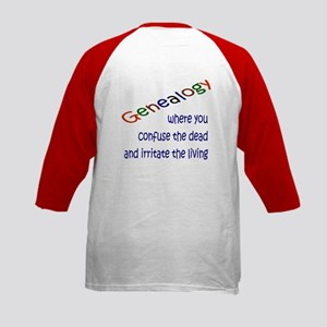 Genealogy For You<br>Kids Baseball Jersey